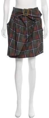 See by Chloe Plaid Mini Skirt w/ Tags