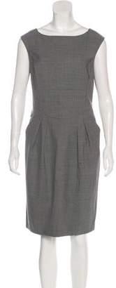 Magaschoni Wool Knee-Length Dress