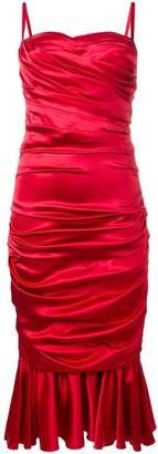 Dolce & Gabbana ruched dress
