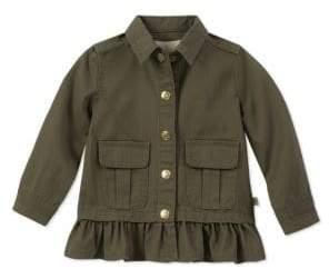 Kate Spade Baby Girl's Peplum Field Jacket