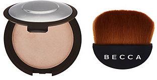 BECCA Shimmering Skin Perfector Pressed w/ Half Moon Brush