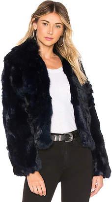 5f8e618b001d Adrienne Landau Blue Fur & Shearling Coats - ShopStyle