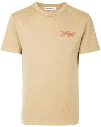 Ground Zero damaged print T-shirt