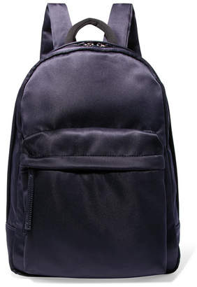 Elizabeth and James Satin Backpack - Navy