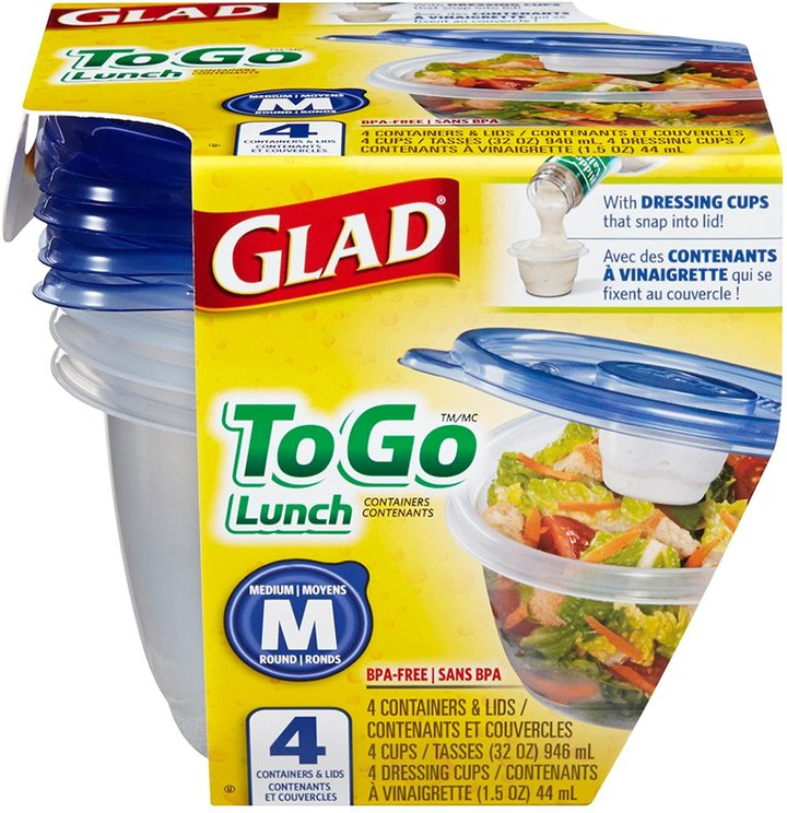 GladWare Lunch Size Containers
