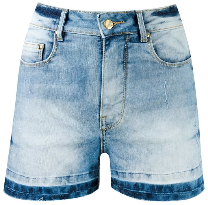High Waisted Denim Shorts - ShopStyle Australia