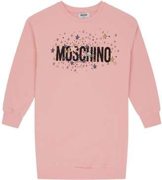 Moschino Star Logo Sweater Dress