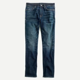 J.Crew 770 Straight-fit jean in stretch dark worn Japanese denim