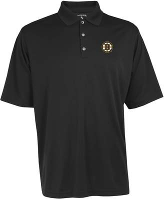 Antigua Men's Boston Bruins Exceed Performance Polo