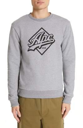 A.P.C. Sherman Logo Sweatshirt
