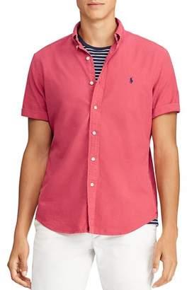 Polo Ralph Lauren Short-Sleeve Classic Fit Button-Down Shirt