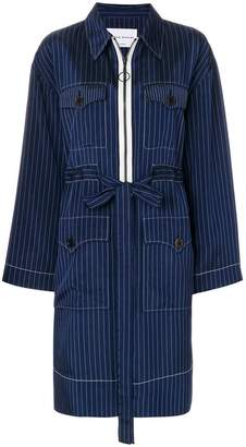 Sonia Rykiel pinstriped coat