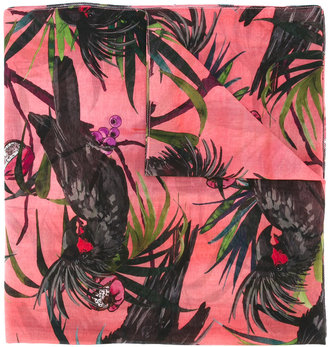 Ps By Paul Smith macaw print scarf $175 thestylecure.com