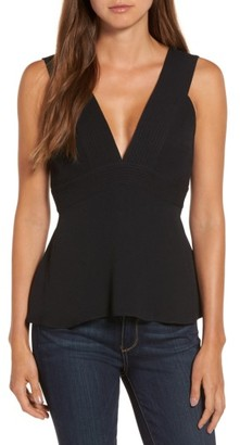 Women's Trouve Seamed Tank $69 thestylecure.com