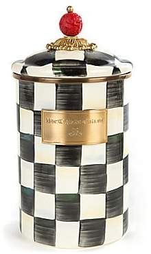 Mackenzie Childs MacKenzie-Childs MacKenzie-Childs Courtly Check Canister