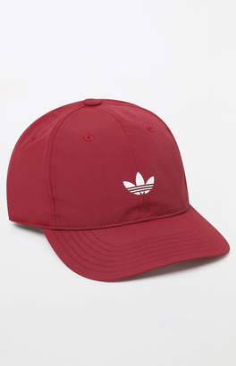 adidas Relaxed Modern II Red Strapback Dad Hat