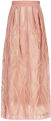 Amanda Wakeley Embroidered Maxi Skirt