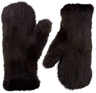 Moncler Wool Logo Gloves