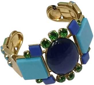 Philippe Ferrandis Blue Metal Bracelets