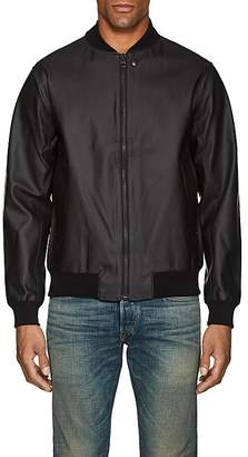 Stutterheim Raincoats RAINCOATS MEN'S VÄSTERTORP COTTON-BLEND BOMBER JACKET