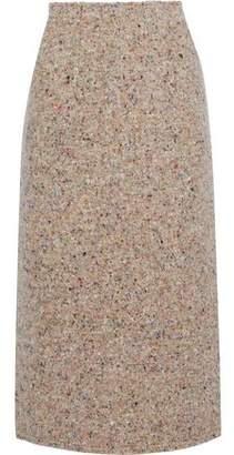 Acne Studios Fenel Trash Wool-Blend Tweed Midi Skirt