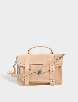 Proenza Schouler PS1 Medium Suede bag