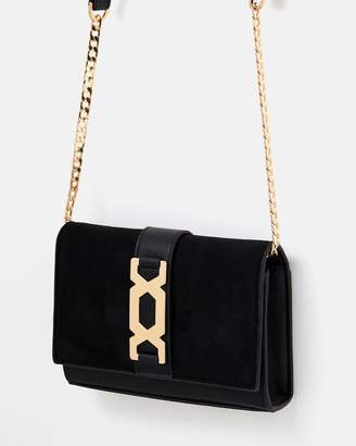 Topshop Rome Hex Hardware Cross-Body Bag
