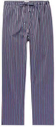 Derek Rose Royal Striped Cotton-Satin Pyjama Trousers