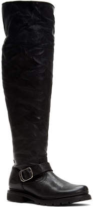 Frye Vanessa Leather Over-The-Knee Boot