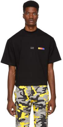 Pyer Moss Black Classic Logo T-Shirt