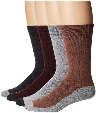 Columbia 4-Pack Marled Moisture Control Crew Men's Crew Cut Socks Shoes