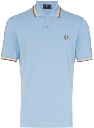 Fred Perry stripe-trimmed polo shirt