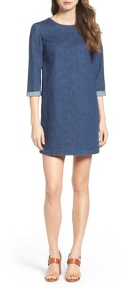 Women's French Connection Denim Shirtdress $118 thestylecure.com
