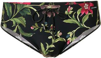 Dolce & Gabbana wild nature printed beachwear