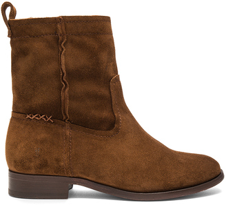 Frye Cara Short Boot $298 thestylecure.com