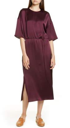 Vince Silk Midi Dress