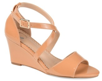 Journee Collection Stacey Wedge Sandal