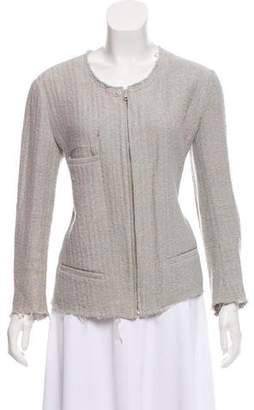 Etoile Isabel Marant Collarless Zip-up Jacket