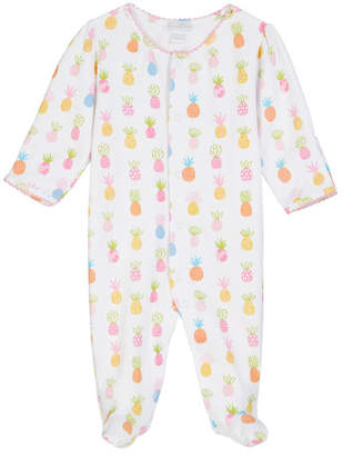 2806b4a60 ... Kissy Kissy Pineapples Printed Pima Footie Playsuit, Size Newborn-9  Months