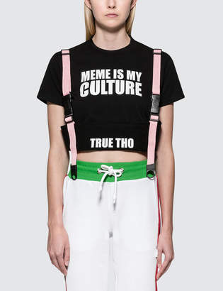 Gcds Meme S/S T-Shirt With Strap