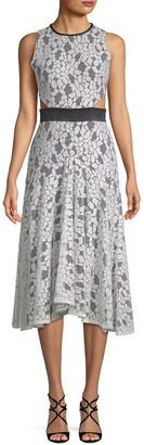 Alexis Lace Cut-Out Dress