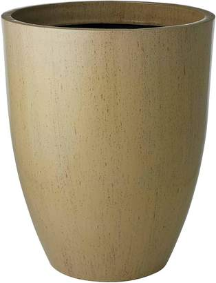 Rogue Glazelite Squat Round Pot, Cream 53cm