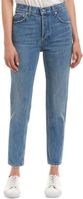 Derek Lam 10 Crosby Lou Light Wash High-Rise Classic Straight Leg