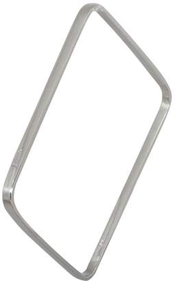 Edge Only - Square Bangle In Silver