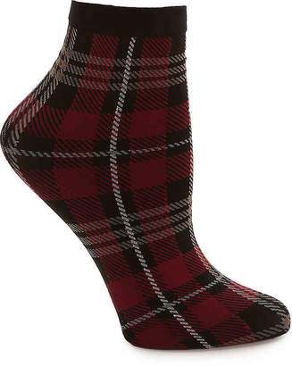 Me Moi MeMoi Plaid Ankle Socks - Women's