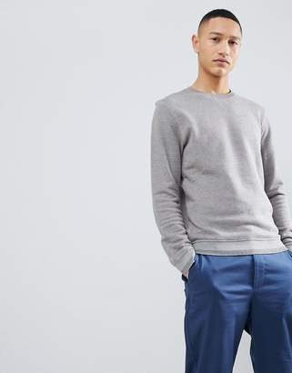 Selected Sweatshirt With Cuff Details