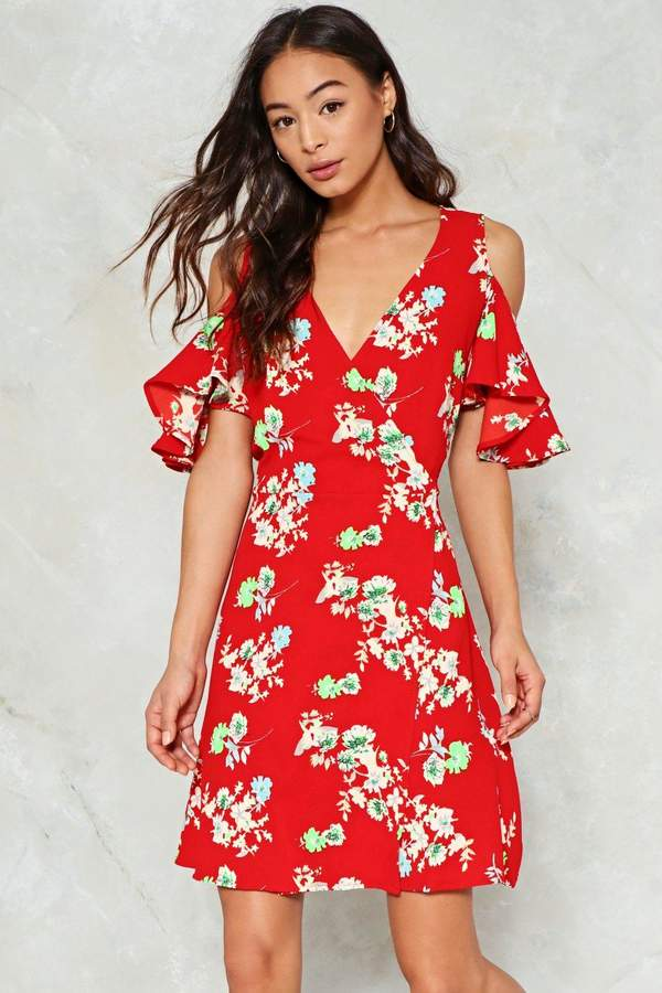 nastygal The Flower of Goodbye Floral Dress