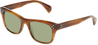Oliver Peoples Jack Huston Sun 52 Rt-Jade Tinted Wayfarer Frame