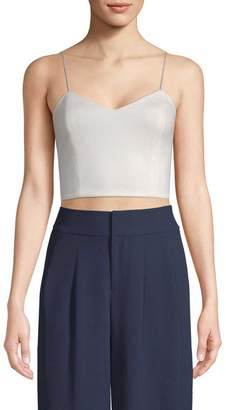 Alice + Olivia Women's Archer Cropped Cami Top