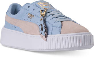 Puma Women's Basket Platform Coachella Casual Sneakers from Finish Line
